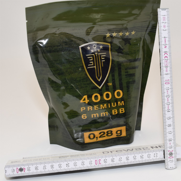 Elite Force Premium BBs 6 mm - 4000 shots - 0,28g